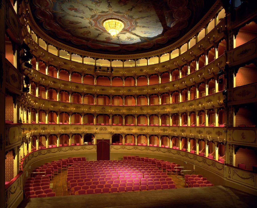 Il Teatro Rossini di Pesaro